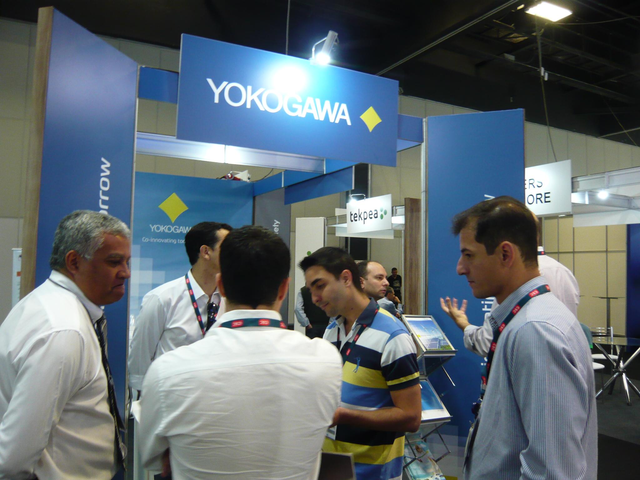Yokogawa booth LAUW2016