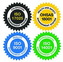 ISO Certification Seals