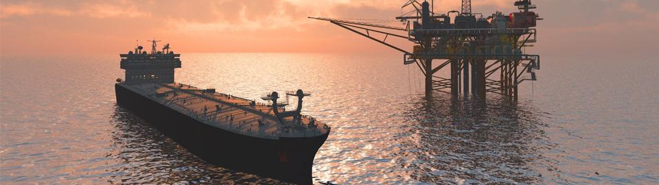 Pobřežní těžba ropy miniatura