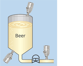 EJAC60E Hygienic Adapter System (Fluidless Type) - Application - Beer fermentation and storage tank