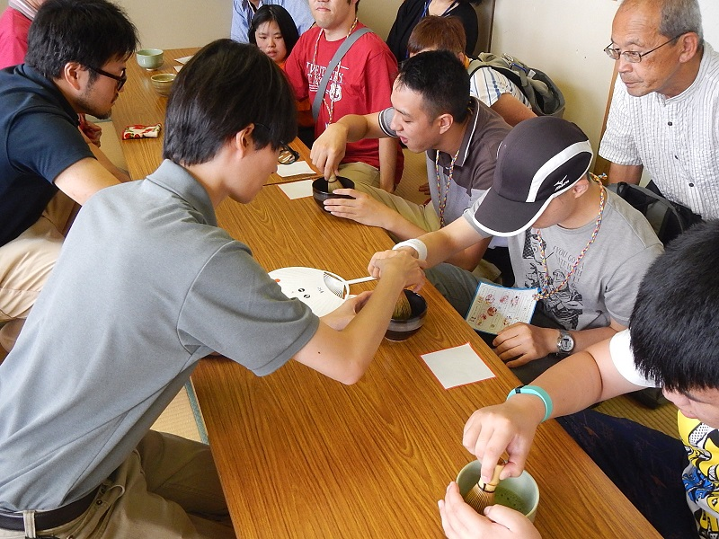 Tea ceremony workshop(August, 2017)