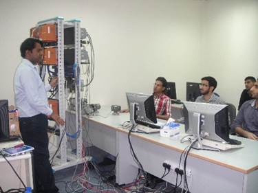 Technical training using Yokogawa products