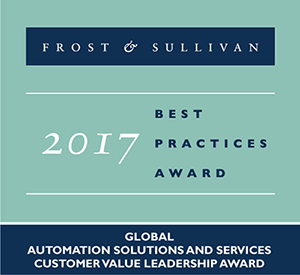 Frost & Sullivan 2017 Global Customer Value Leadership Award