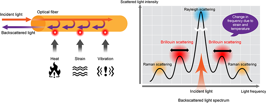 Brillouin optical correlation domain reflectometry (BOCDR)