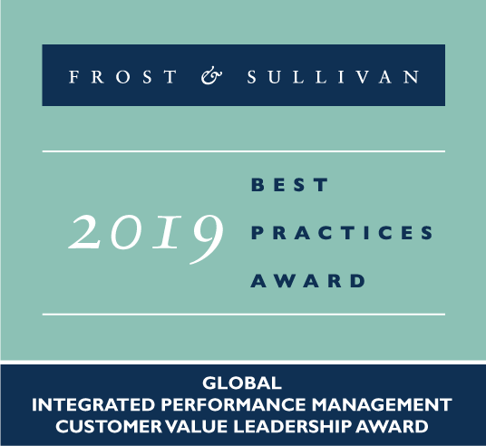 Frost & Sullivan 2019 Best Practices Award