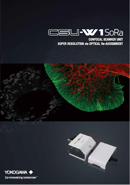 CSU-W1 SoRa Confocal Scanner Unit