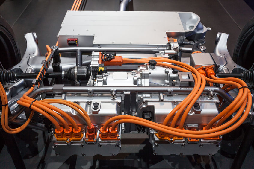 Modern plug-in hybrid vehicle transmission