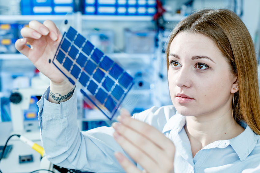 Development of film solar cells