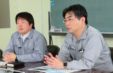 Mr. Ikawa and Mr. Nakaya