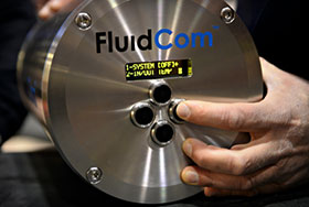 A unique integrated device for chemical injection valve and flow meter, FluidCom™.