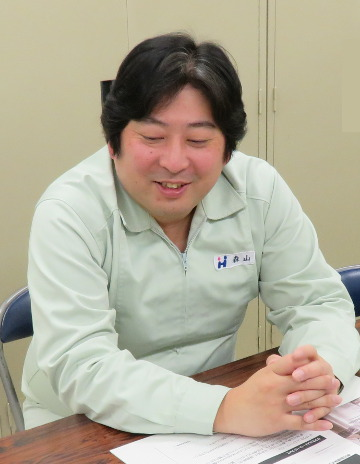 Tatsunori Moriyama, Manager, Manufacturing & Development Section, Manufacturing Department
