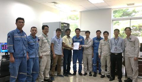 The PVCFC and Yokogawa team