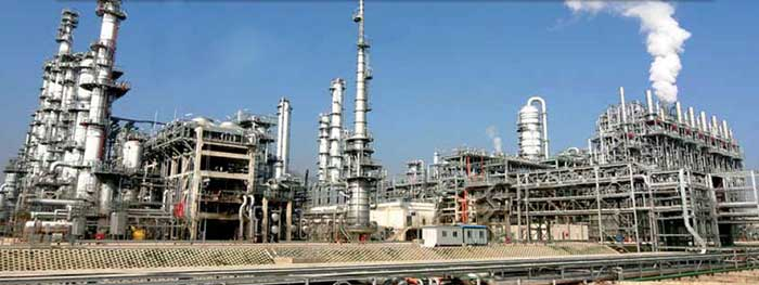 Processing plants in CSPC Nanhai Petrochemicals Project