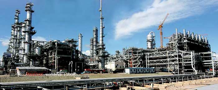 A huge petrochemical complex: CSPC Nanhai