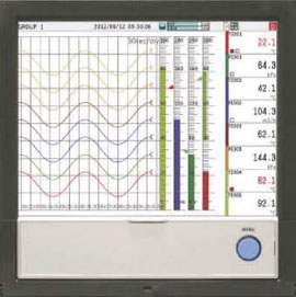 Figure 4: Modern panel-mount data acquisition stations