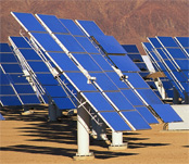 photo-voltaic solar panels