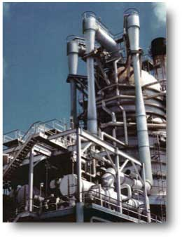 Vacuum Distillation Column