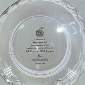 Award from BP