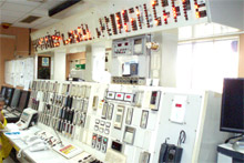 Central control room (before upgrade)