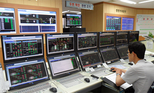 CENTUM VP operator in central control room