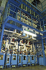 One of the bench plant units