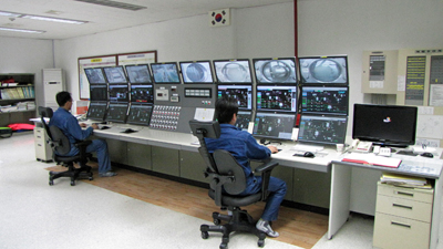 CENTUM CS 3000 in central control room