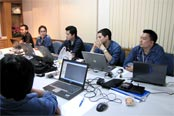 Project team members at Yokogawa's Rayong office