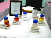 Oleochemical samples