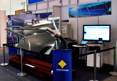 Joint exhibit with NEP Solar at All-Energy Australia exhibition in October 2011