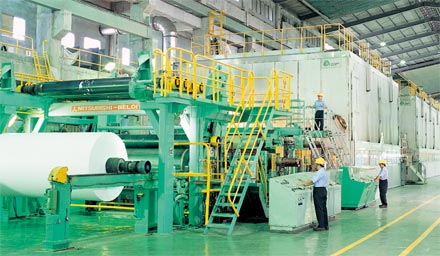 Paper machine no. 1