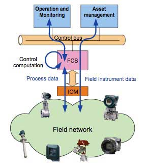 Figure 1 Flow of data processed by FCS