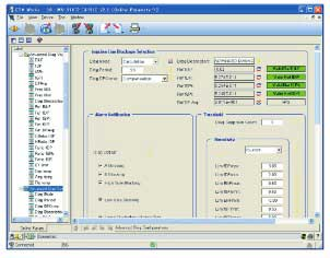 Figure 7 Example of DTM Diagnostic GUI