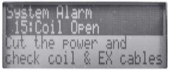 Figure 20 Alarm Display Mode