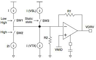 Figure 2 Circuit Diagram of Connected Tri-level Modulator