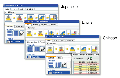 Multilingual Support (Japanese, English, and Chinese)
