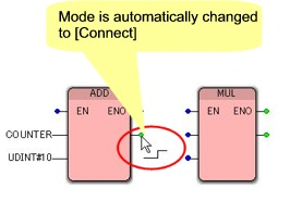 Automatic Connection Mode Change