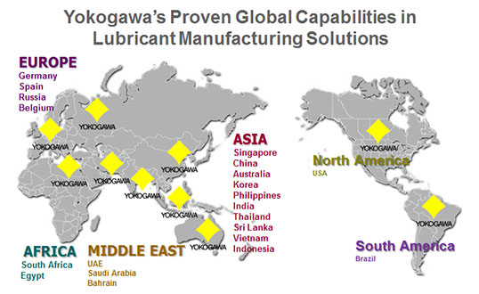 Yokogawa's Proven Global Capabilities in Lubricant Manufacturing Solutions