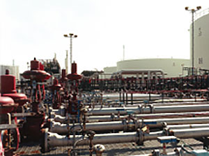 Oil Blending facilities