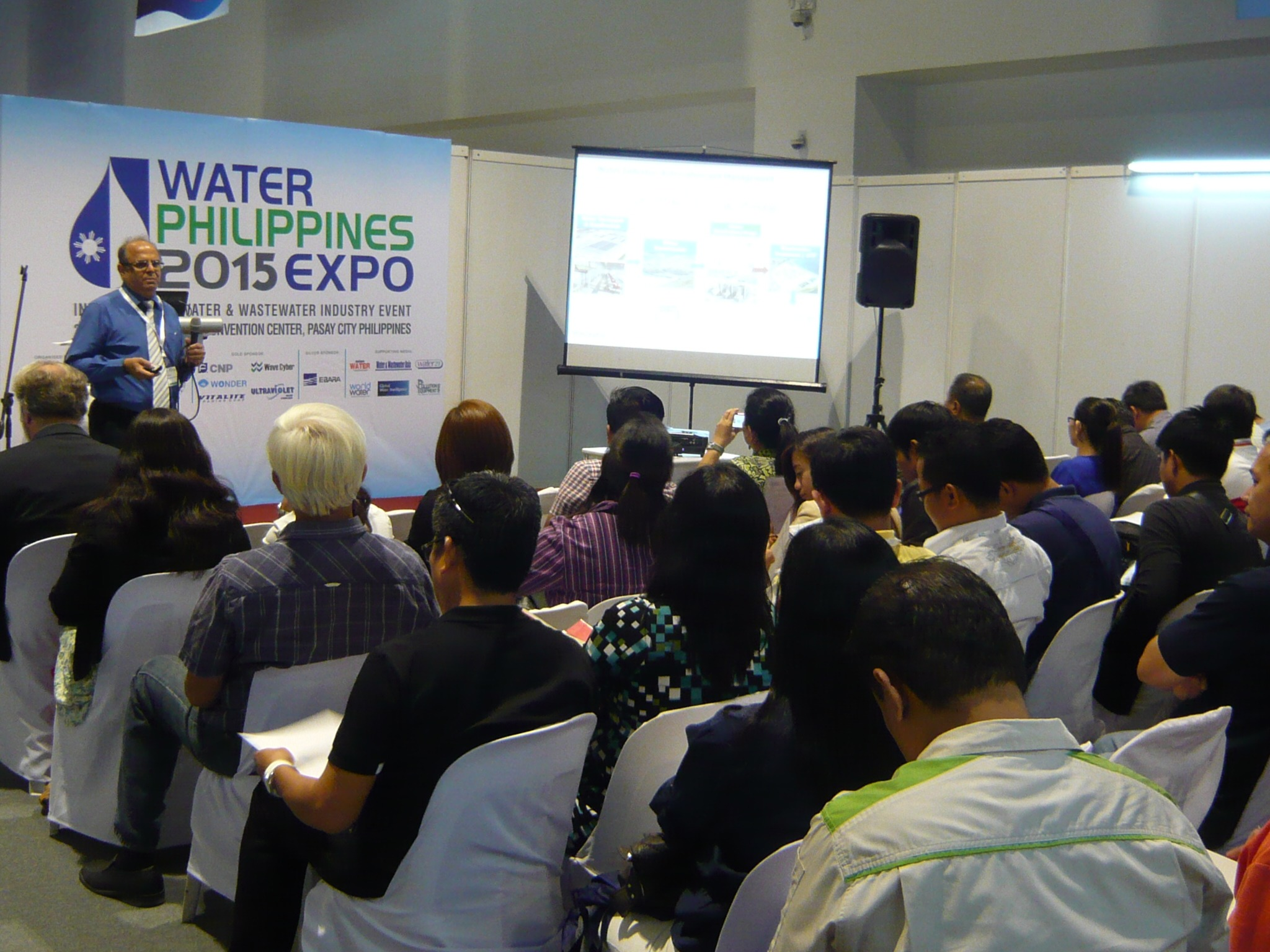 Technical Seminar at Water Philippines 2015