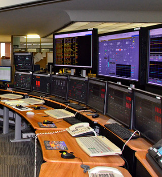 Part of the new Loy Lang control room layout