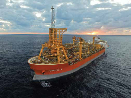 Stones subsea wells in Gulf of Mexico