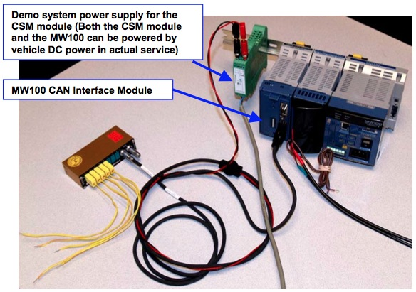 MW100 CAN Interface Module