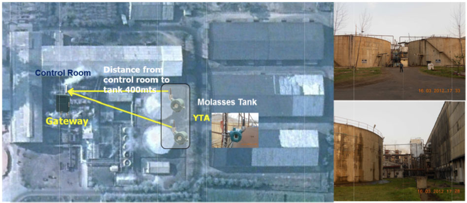 Molasses Tank to Gateway