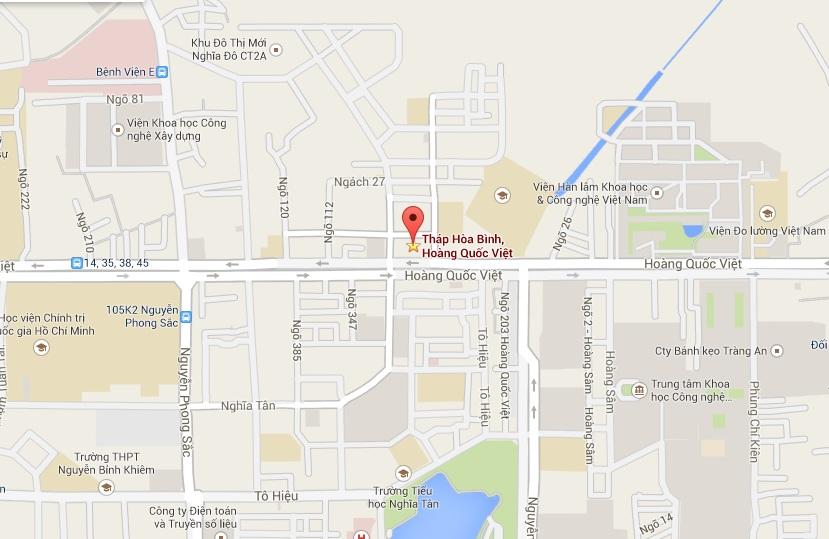 YVN Offices Map | Yokogawa Vietnam