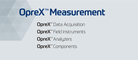 OpreX Measurement family name list image