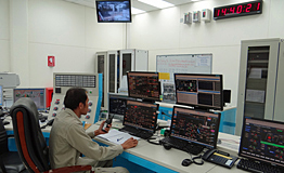 One operator per shift in the central control room