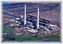 Liddell Power Station: Plant view