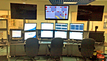 Central control room