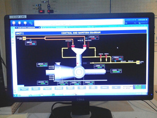 Human interface of new system at Lahendong I
