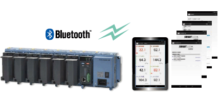 Enables monitoring via Bluetooth